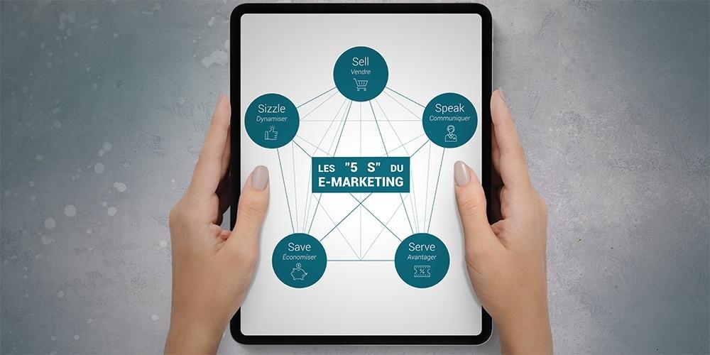 5 S du e-marketing