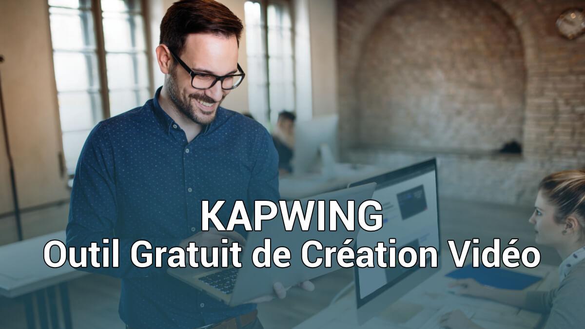 Kapwing outil gratuit de création vidéo