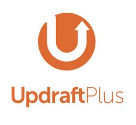Extensions WordPress : Updraft plus logo